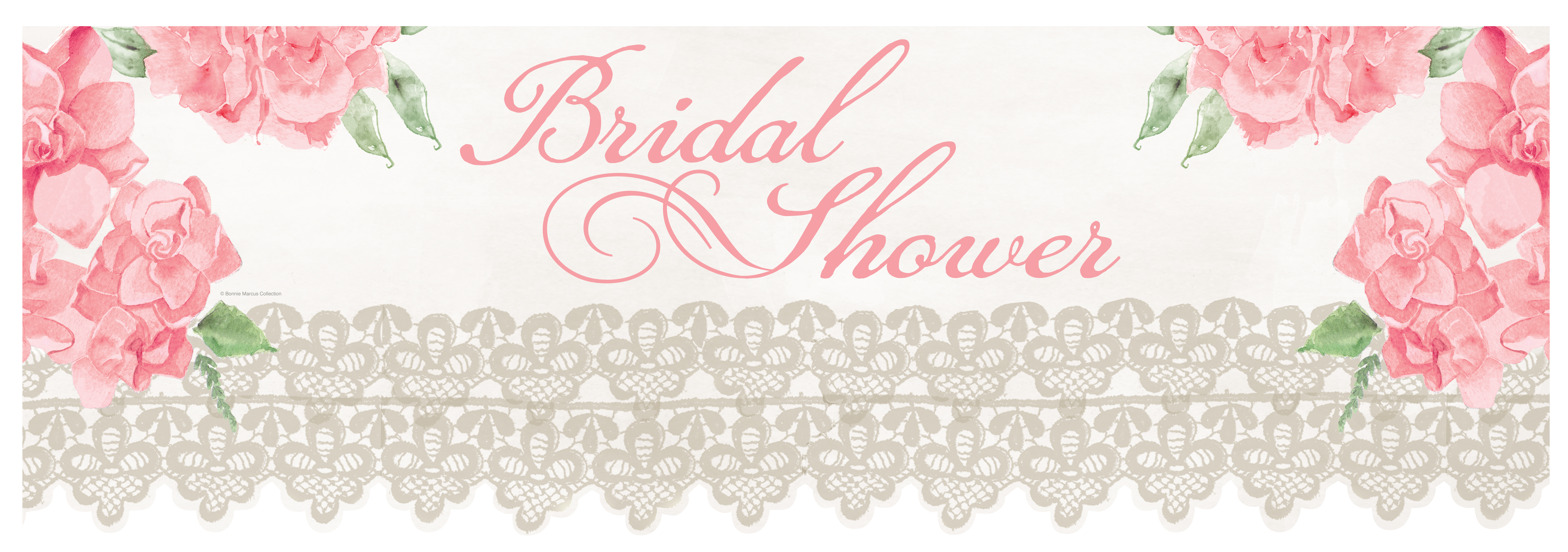 Bridal Shower Banners  Classic Touch Occasions  The Next Level Of